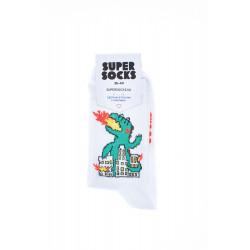 Носки SUPER SOCKS Годзила в...
