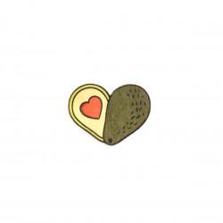 Значок деревянный WAF-WAF...